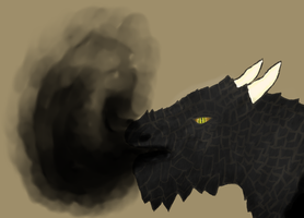 Black Dragon by Hectichermit
