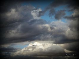 Clouds in the sky by Hayes-Designs