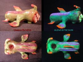 Fleshadon Sludge Skipper Pipe By Undead Ed Glows i by Undead-Art