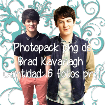 photopack png de Brad Kavanagh by YaquiEditions
