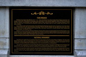 The story of National Monument by afiq1995