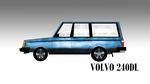 1983 Volvo 240DL by pete7868