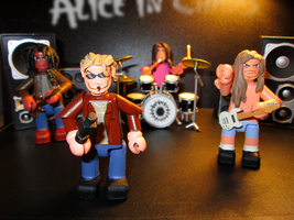 Alice in Chains Mini-figures. by APlaceForStuff