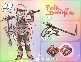 Pink Dolomite - Gemsona Application by X-RedLemon-X