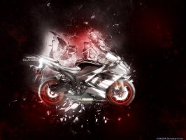 Kawasaki Black Ninja V2 by IsK4nD3R