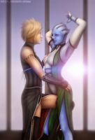 ME2: 'Dancing' by Mecha-Potato-Alex