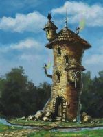 Tower of the crazy magus by jameli