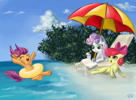 Summer Paradise by DaffyDream