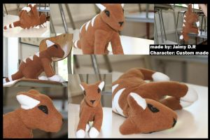 :PLUSHCO: Custom by Ymia-the-cheetah