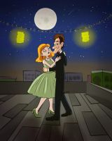 They slow danced in silence for a while by Rei-Hikaru