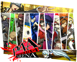 Persona 4: The Ultimate in Mayonaka Arena Wallpr by KumaOniOni