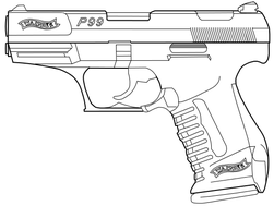Walther P99 by ArroyoPl