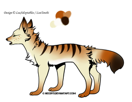 CLOSED - Canine Adoptable 56 by LeaAdoptables