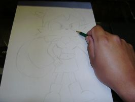 Me drawing Inad by Esteban1988