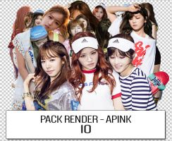 + PACK RENDER - APINK [II] by RainbowOfCherry