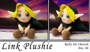 Link plushie by Rally-the-Cheetah