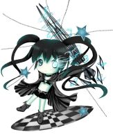 Chibi Black rock shooter by Pinlin