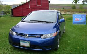 civic si on the farm by jimmyselix