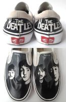 The Beatles on Vans by Gohush