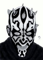Darth Maul by BavarianGoassBeard