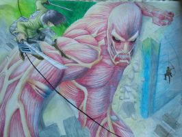 Attack on titan by AsariTheKiller
