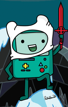 BMO Be More Finn: I'm a hero too, boiii by Rheostatician