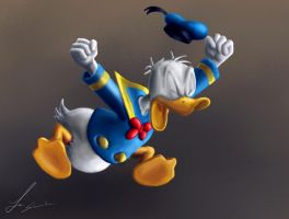donald in rage by opengraphics
