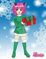 Christmas 2010: Mew Ichigo by Magical-Mama