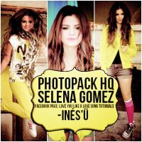 Selena Gomez Photpack by CatchingYourHeart