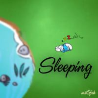 Sleeping ,. by Hamda-AlRais
