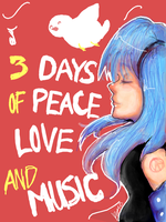 Tegaki: Peace, love, + music. by Riku-X-Gaara