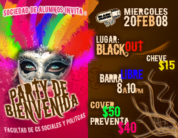 flyer carnaval by gracythistle