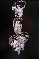 Team Gai Chain-Paper Children by Redundantthoughts
