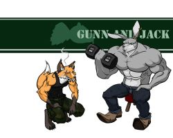 Gunn and Jack by Ed-and-Earl
