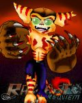 Zombie Lombax by Lombax-World-Creator