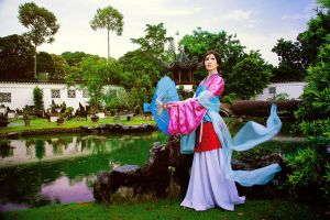 Mulan: Oriental Charm by Astellecia