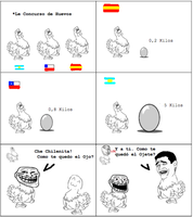 Manuel y sus gallinas xD by pxf-love
