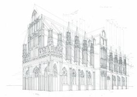 Cathedral Study by HOLYSHOLYS
