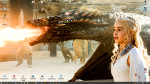 25-10-15 My Desktop - Dance of The Dragons by SGA-Maddin