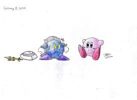The Face of Meta Knight! by TheAxeWarrior