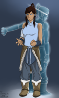 Collab Avatar Korra by EternalFusion