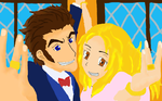 baccano Miria and Isaac Wedding by AwesomeHellee9