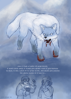 A literal translation of its name is 'winter fox' by ErinPtah