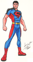 Superboy costume concept by Joe-Singleton