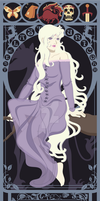 The Last Unicorn Nouveau by kishokahime