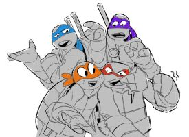 Ninja Turts by Not-Quite-Normal