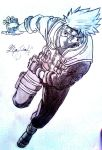 Kakashi Hatake by 1The-God-Of-Art