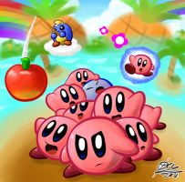 Kirby mass attack by otlstory