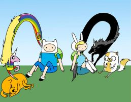 What Time Is It...Adventure Time by Wannapiece25