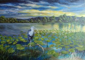 A heron by chebot